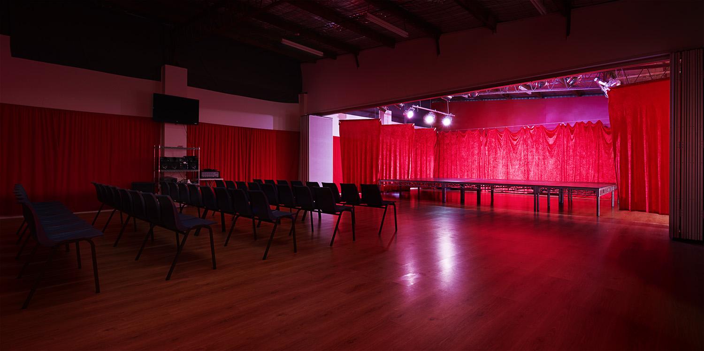 Main Studio - Show Stage Revealed
