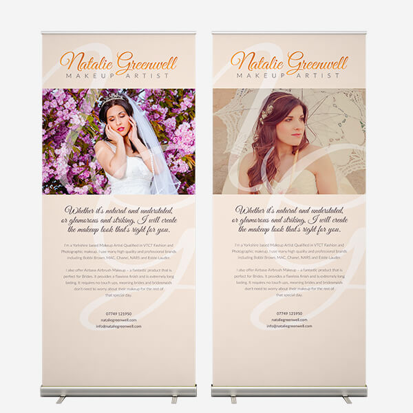 Natalie Greenwell - Exhibition banners