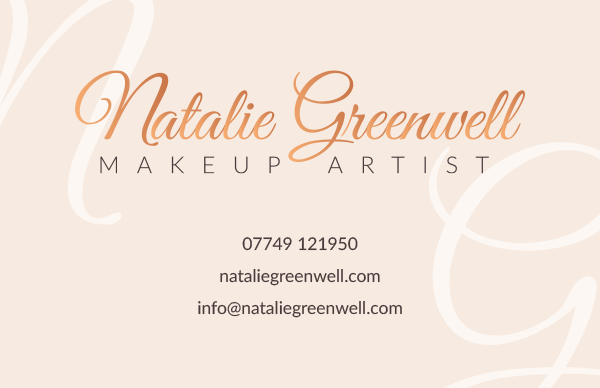 Natalie Greenwell - Business card