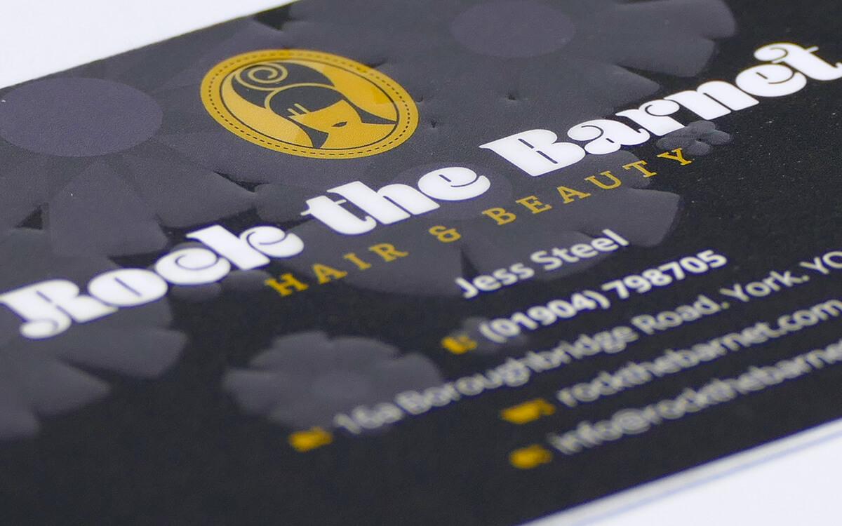 Rock The Barnet business card