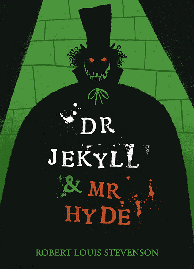 Dr Jekyl and Mr Hyde book cover illustration by Chris Chatterton