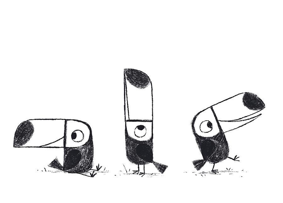 Toucan illustration by Chris Chatterton