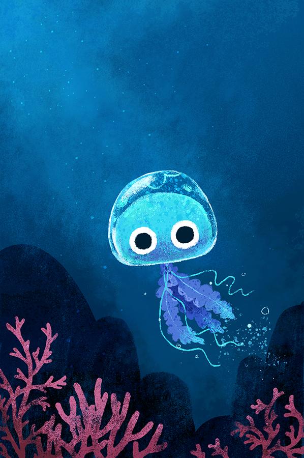 Jellyfish illustration by Chris Chatterton
