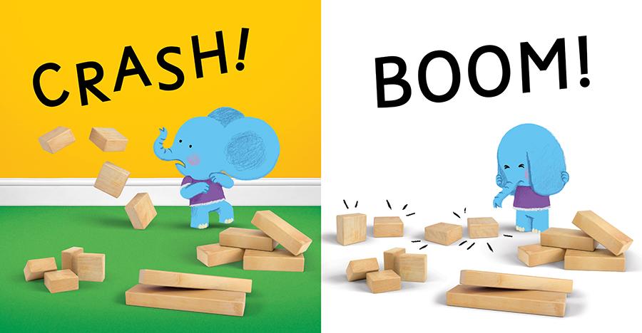 CRASH! BOOM!, illustration by Chris Chatterton