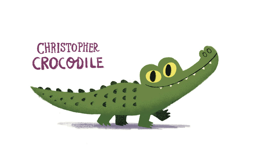 Christopher Crocodile by Chris Chatterton