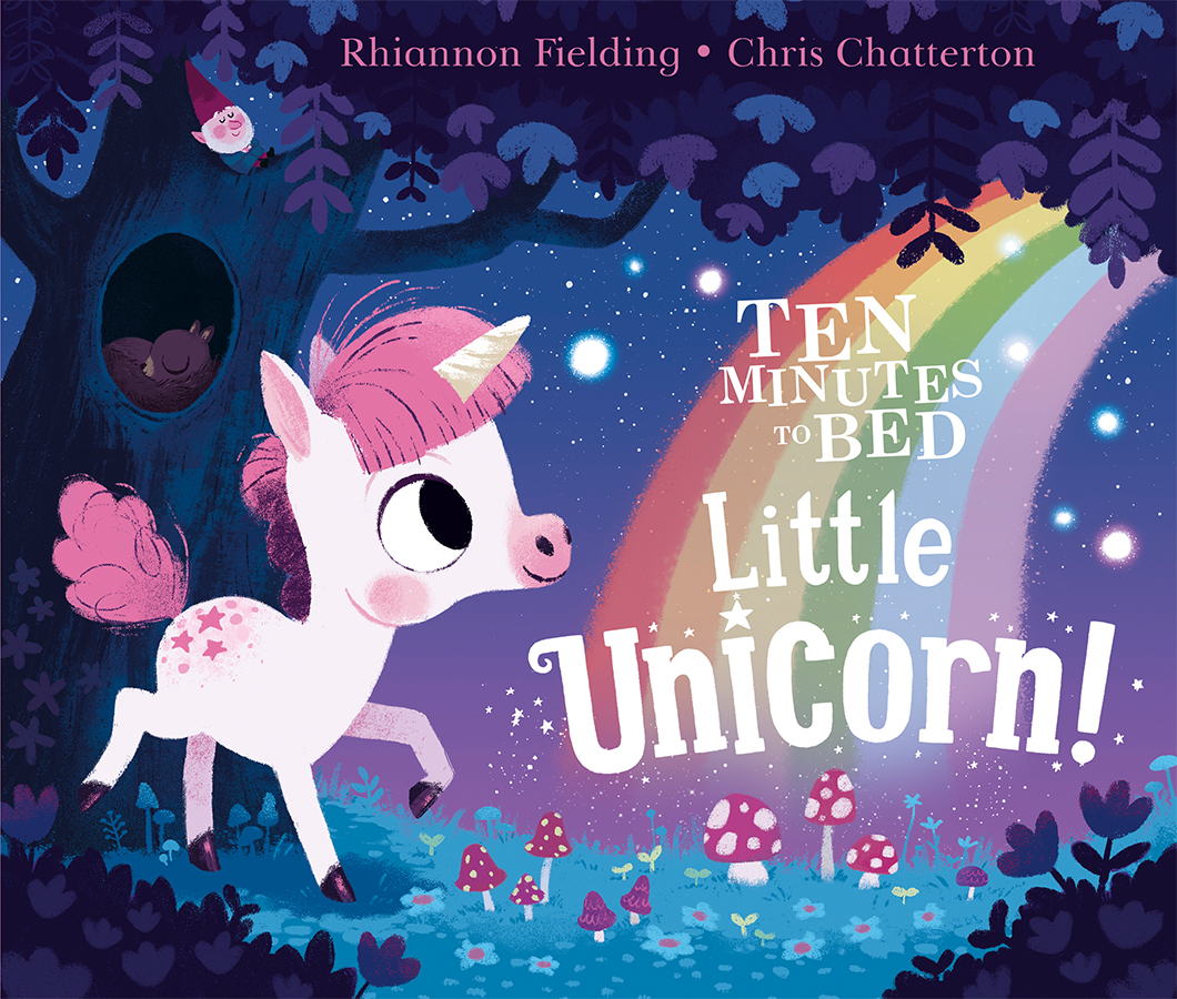 Ten Minutes to Bed - Little Unicorn book with illustrations by Chris Chatterton