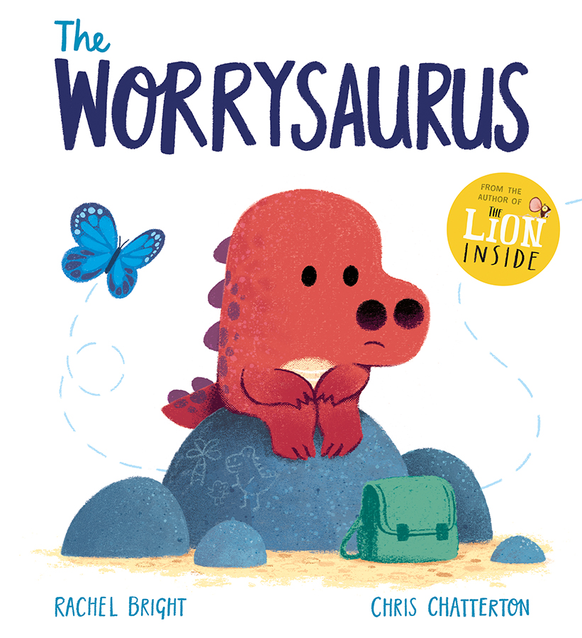 The Worrysaurus book with illustrations by Chris Chatterton