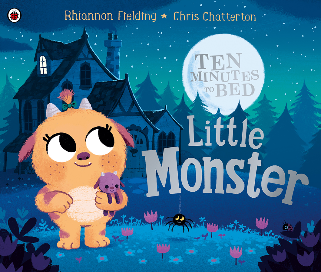 Ten Minutes to Bed - Little Monster book with illustrations by Chris Chatterton