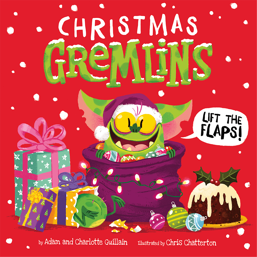 Christmas Gremlins cover illustrated by Chris Chatterton
