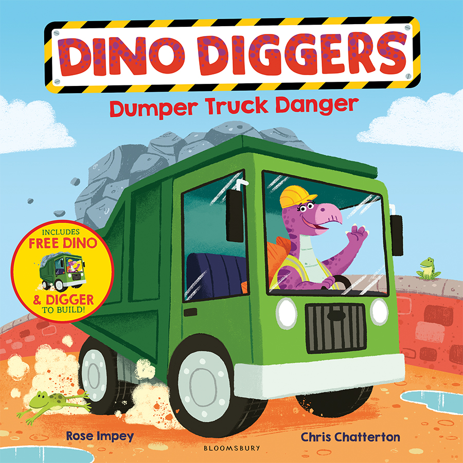 DINO DIGGERS cover illustrated by Chris Chatterton
