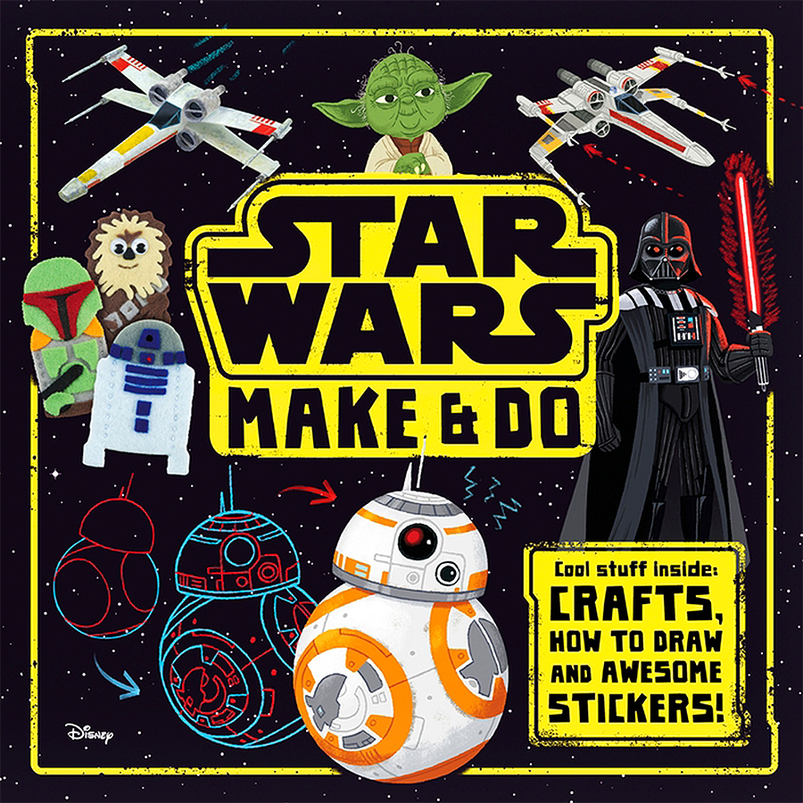 Star Wars - Make & Do Activity book with illustrations by Chris Chatterton