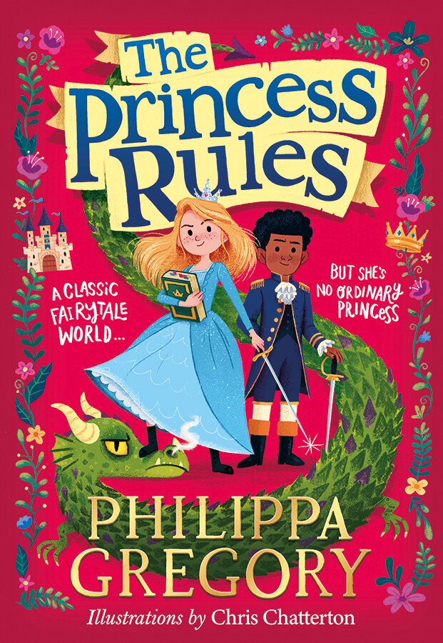 The Princess Rules with illustrations by Chris Chatterton