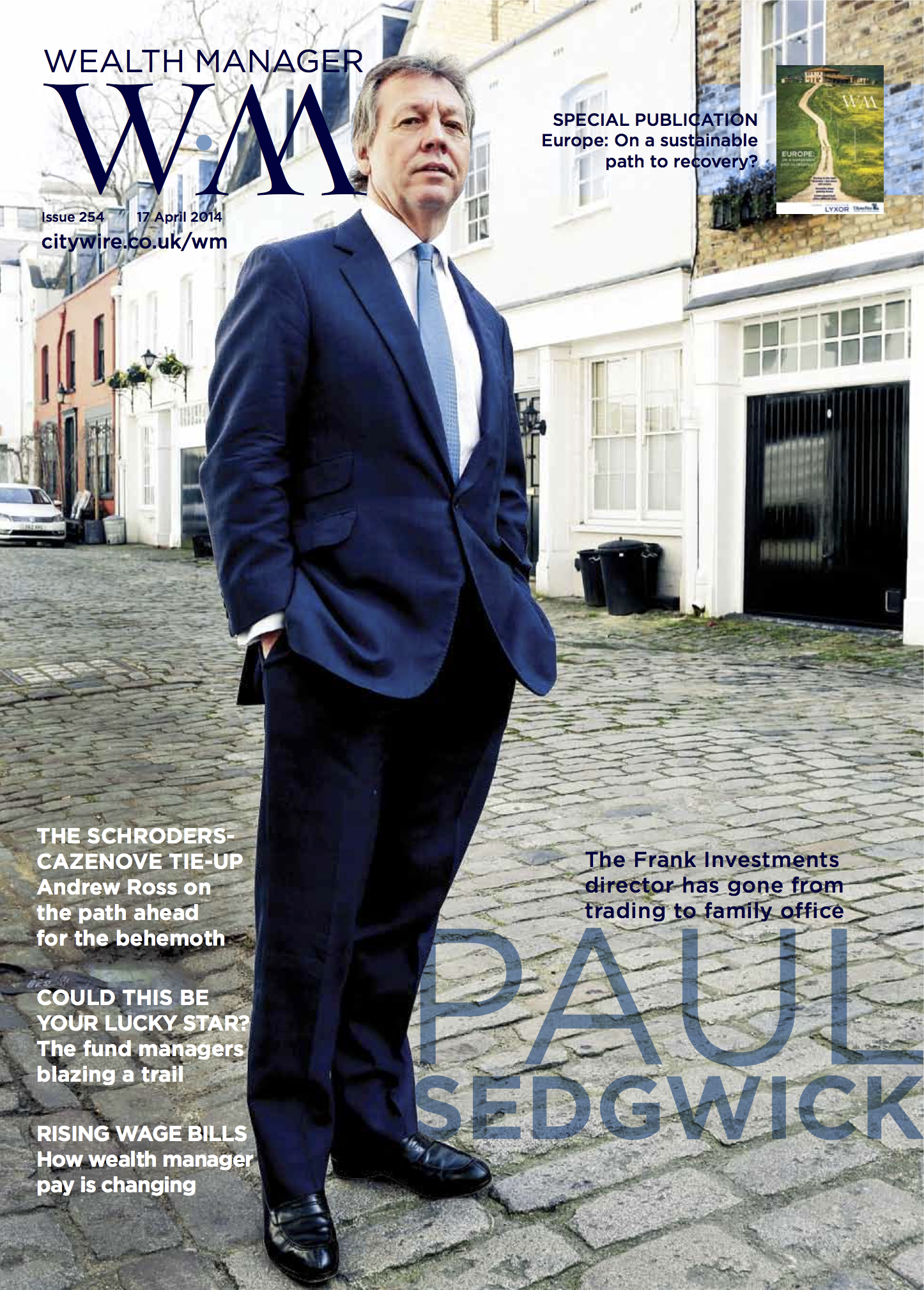 Wealth Manager Front Cover