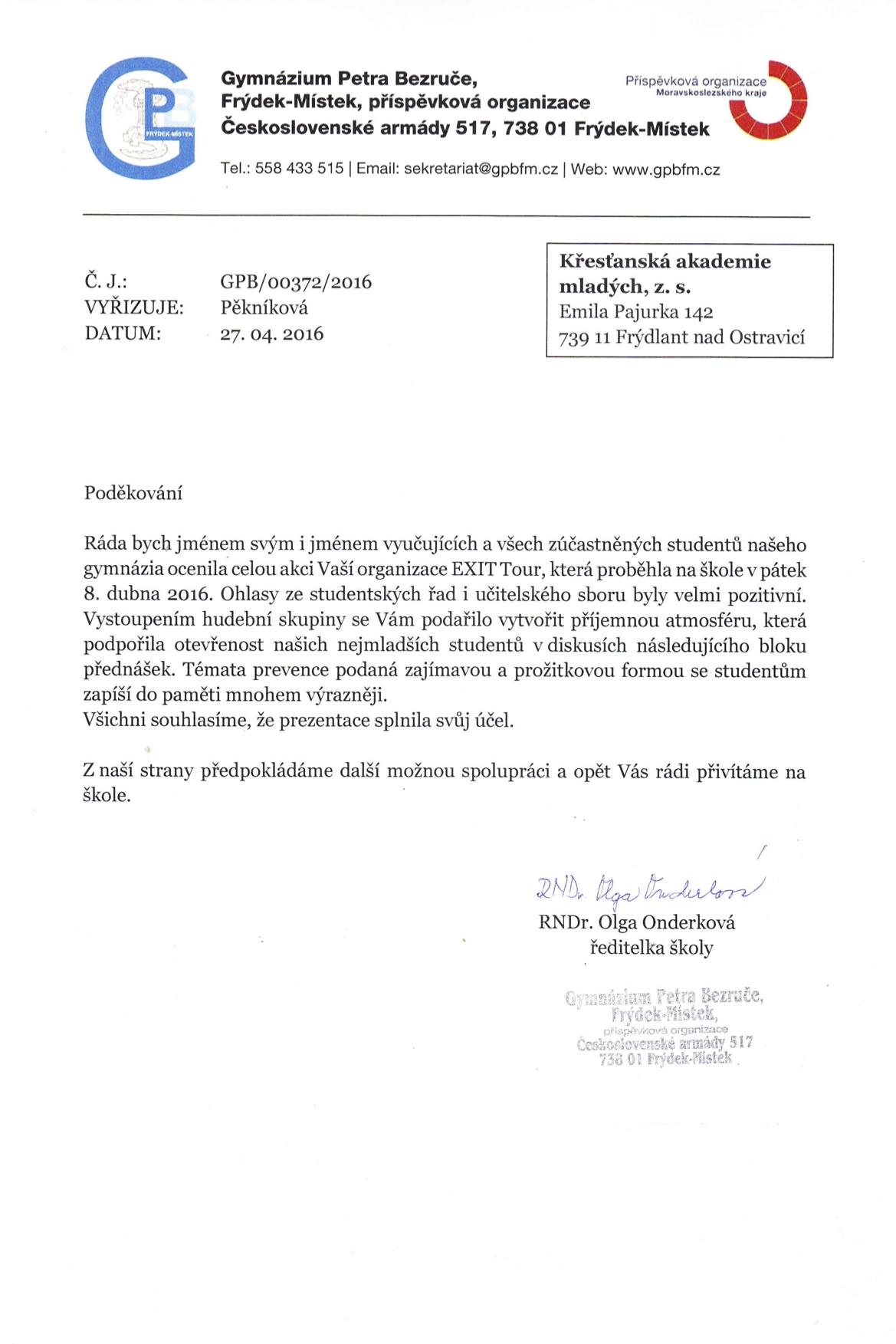 Frydek GymnaziumPB 2016.jpg