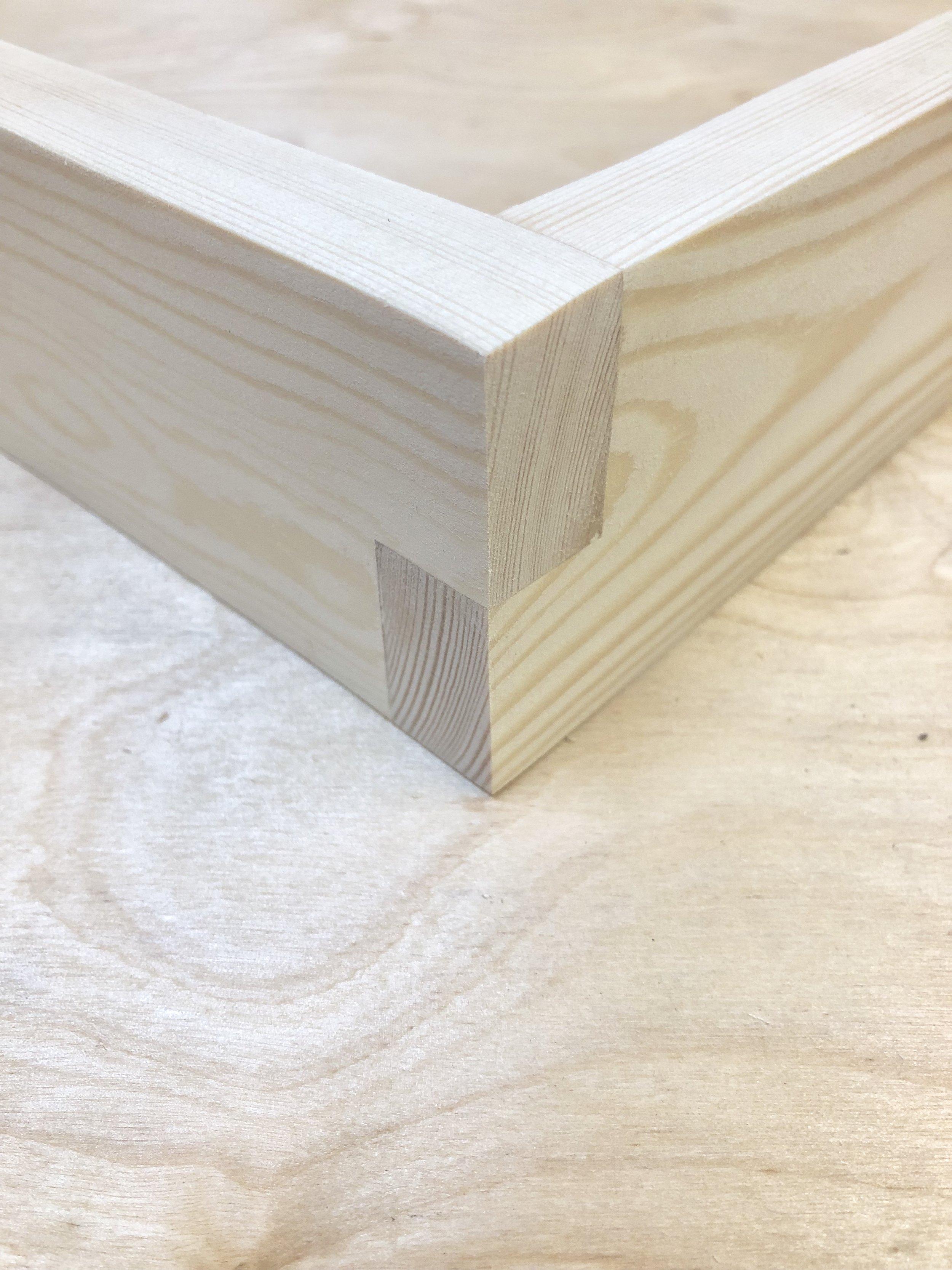 Half Lap Joint   Pine