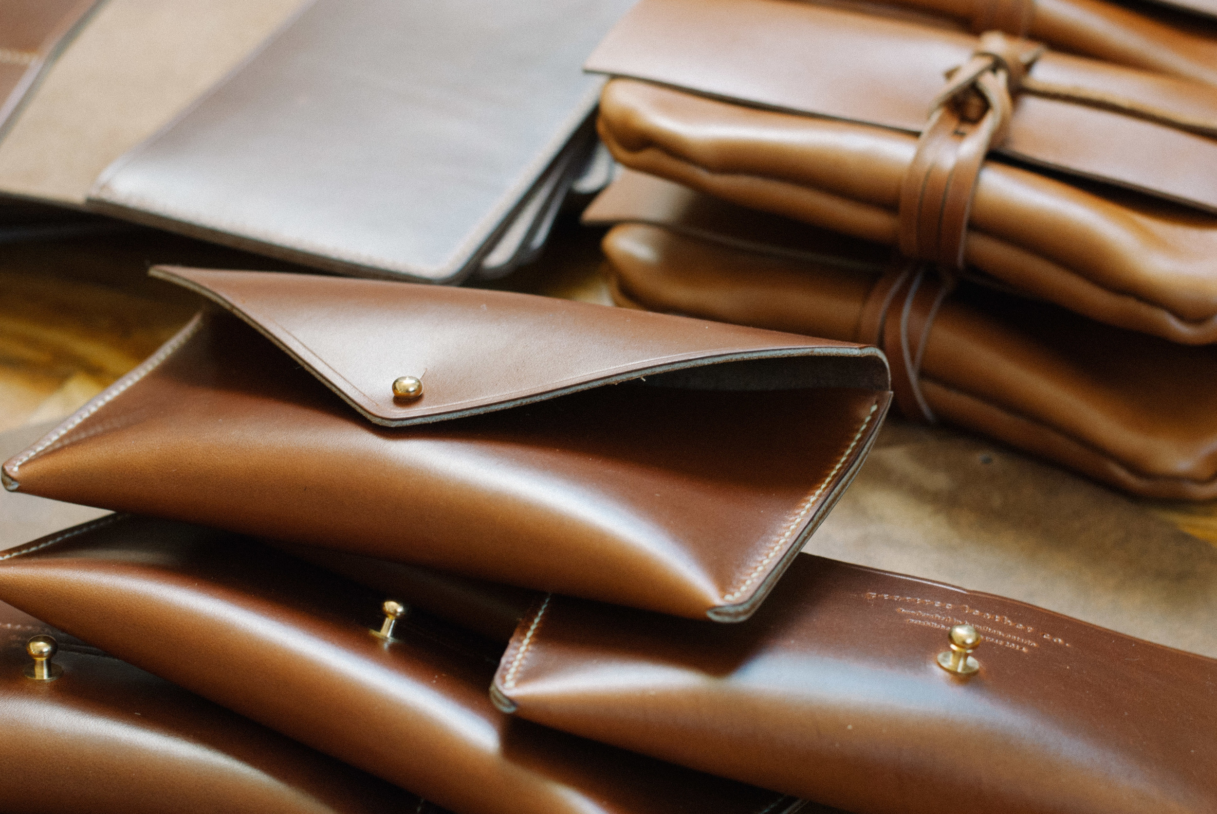 Peartree Leather Co. Envelope Clutch