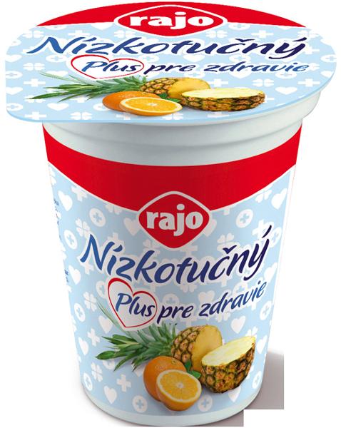 """Nízkotučný """"jogurt"""" Rajo Ananás"""