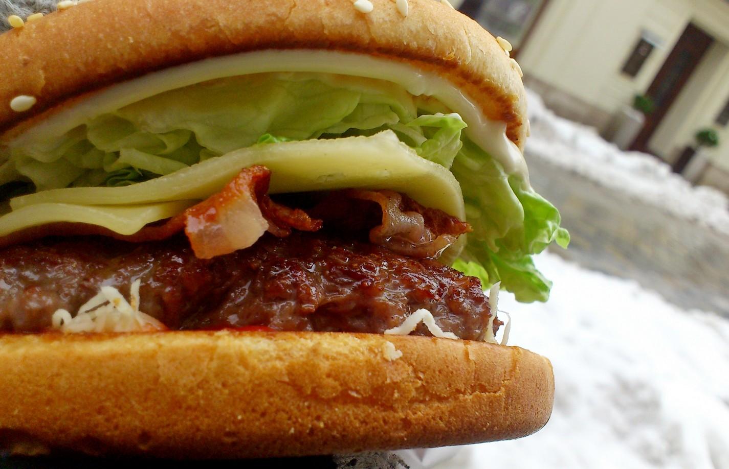 Najlepší Burger v Bratislave - Domáci