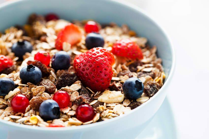 Nezdravé cereálne raňajky