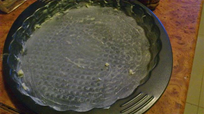 Veľkonočný strúhaný tvarohový koláč