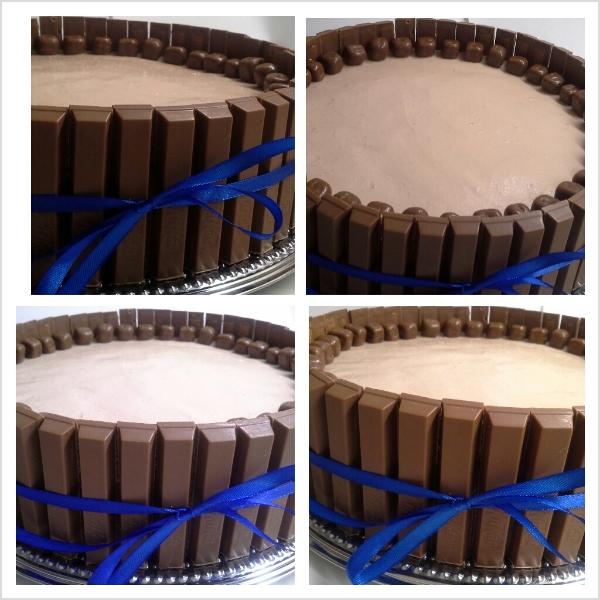 Angiebakes.com Kit Kat torta