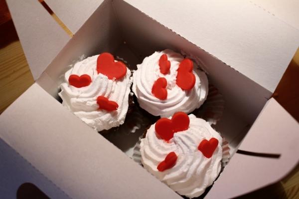 Cukráreň Tima Valentínske Koláčiky z Krabičky
