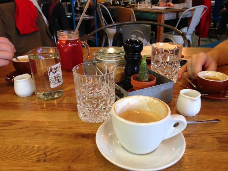 Espresso + cappuccino + limonád