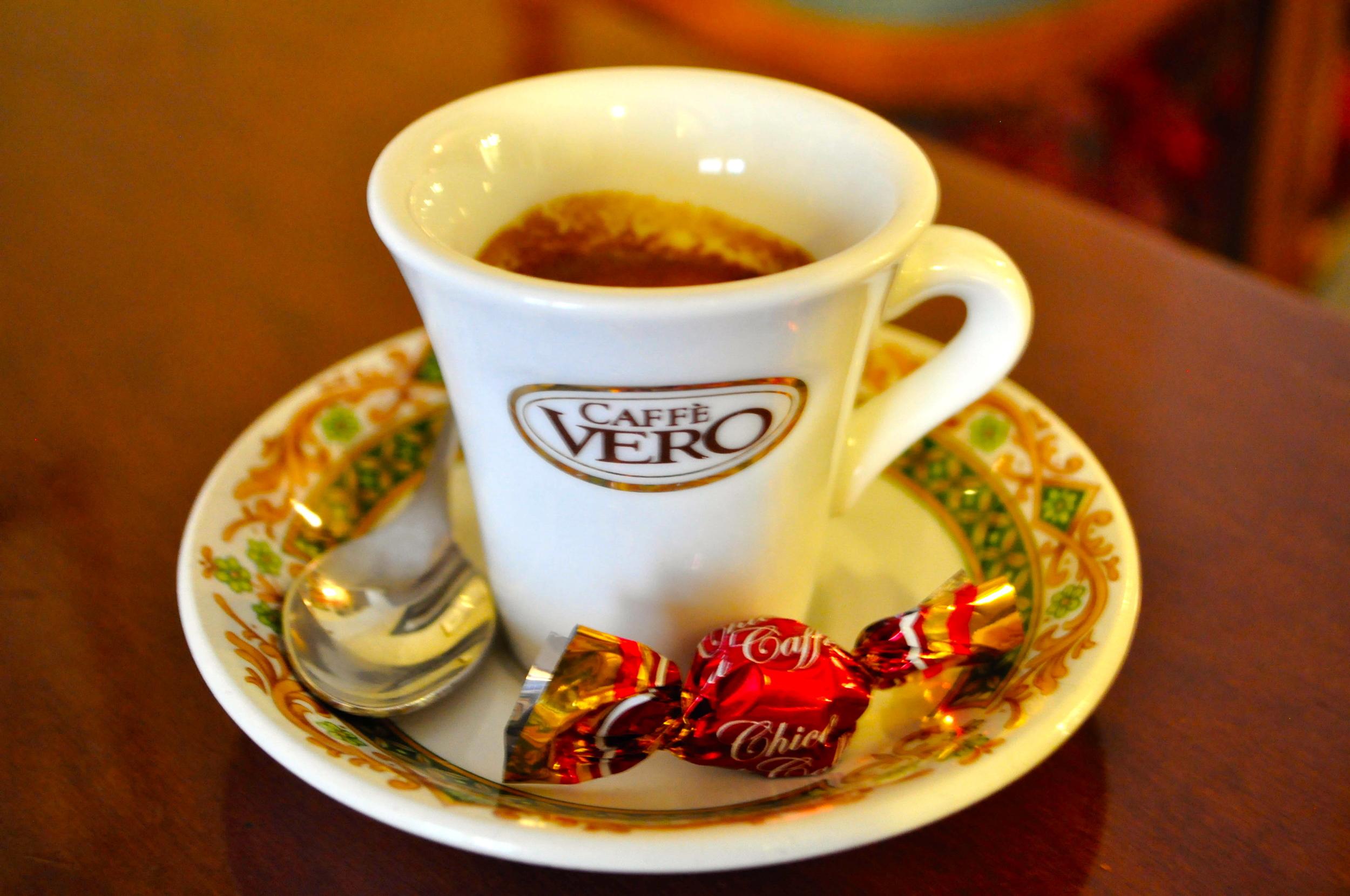 Pravá talianska kávička.