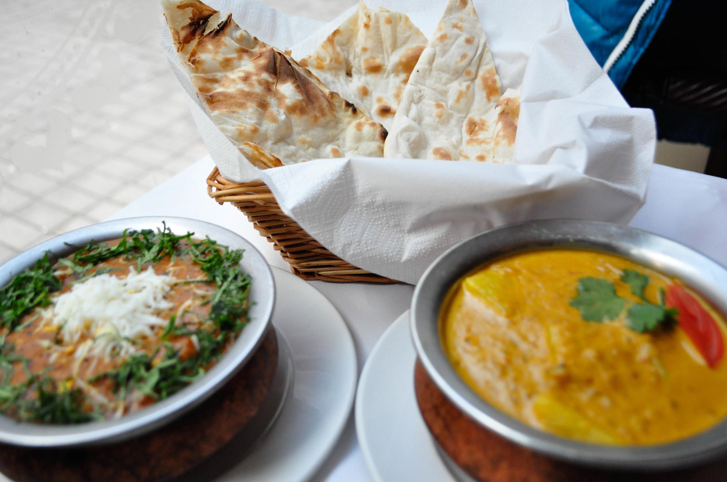 Kompletné indické menu