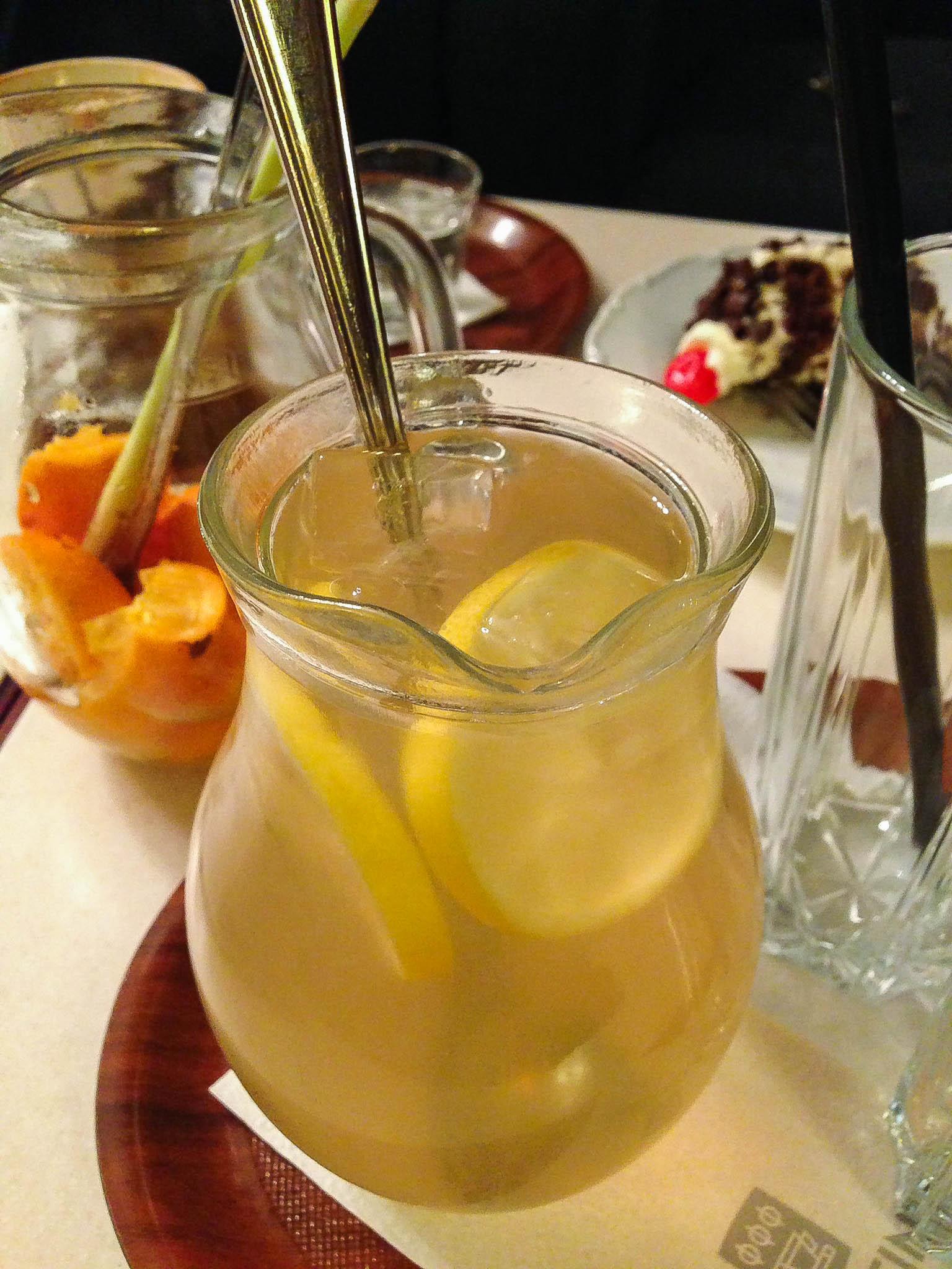 lipova s medom limonada thalmeiner