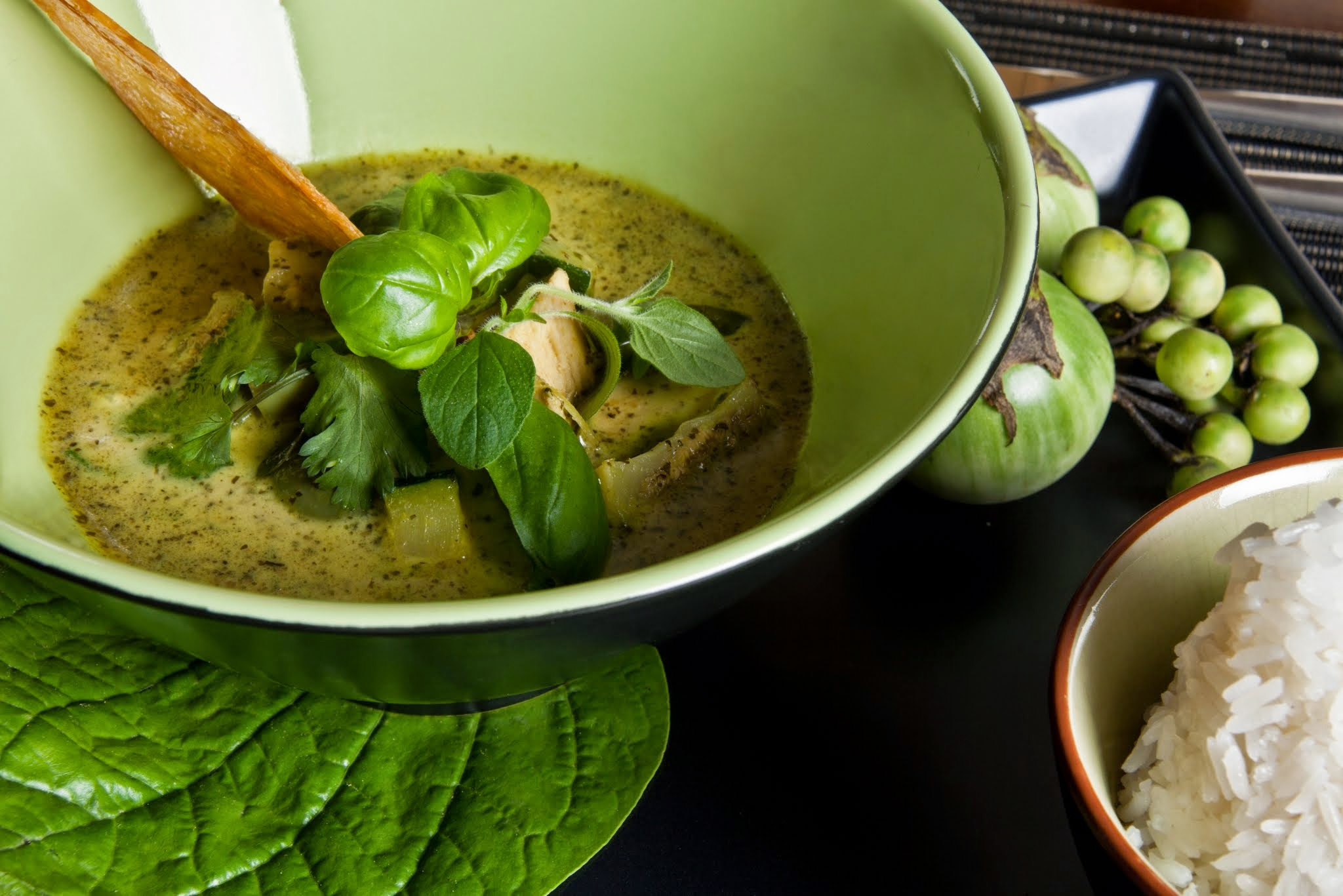 The green curry here is simply awesome.