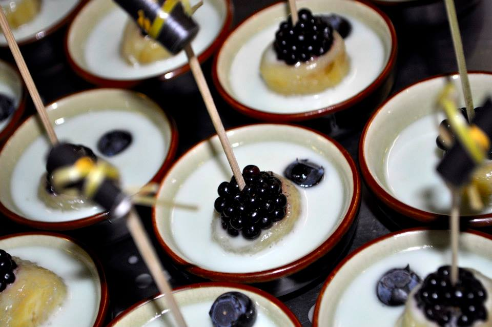Desserts such as these are no problem for their chef.