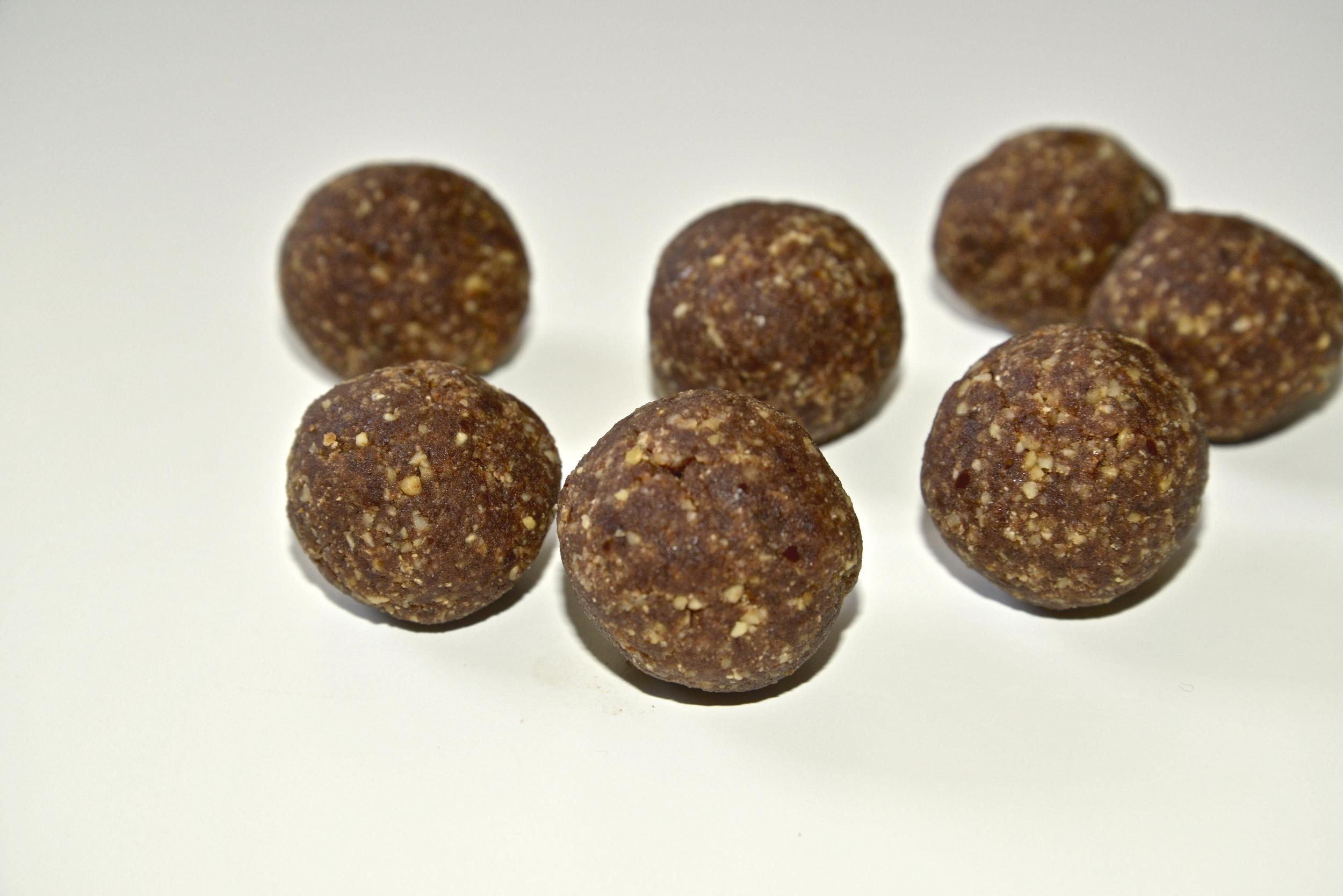 Vegánske arašidové guličky