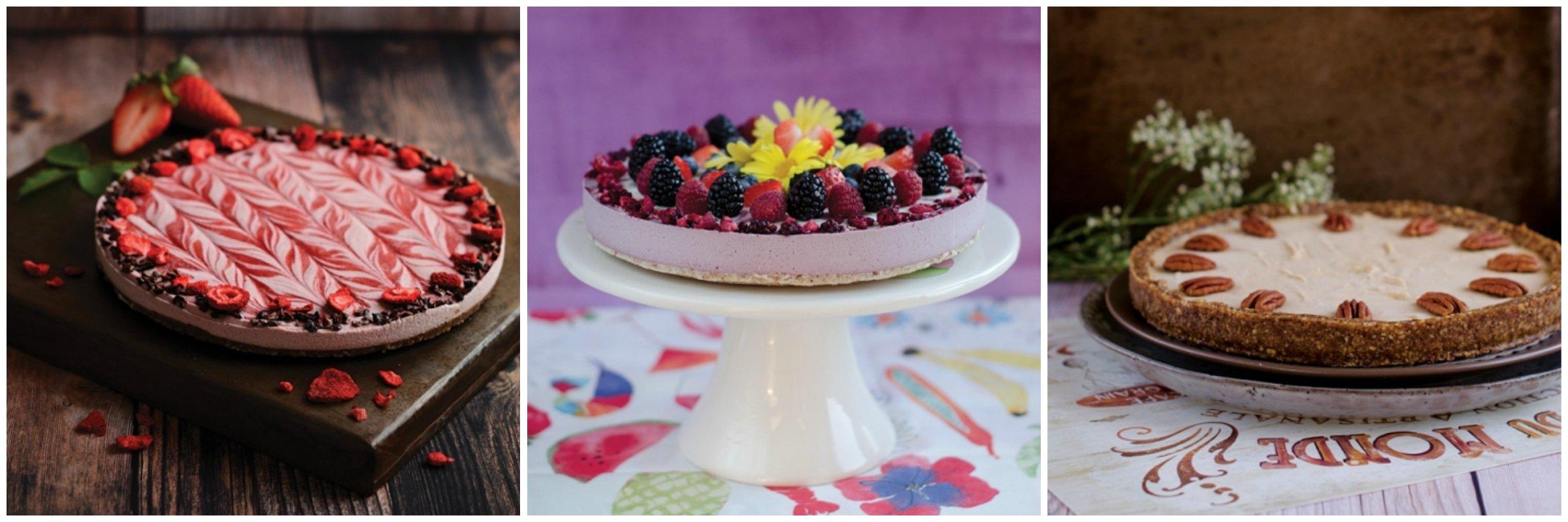 Raw koláče Frangipani + FoodCult