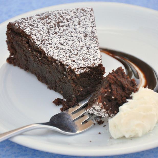Čoko torta bez múky