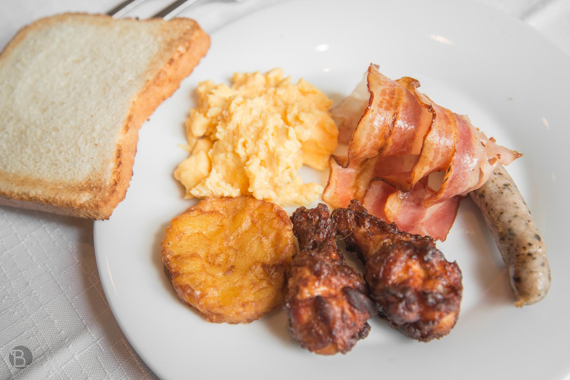 Pravé anglické raňajky na rozbehnutie žalúdka.