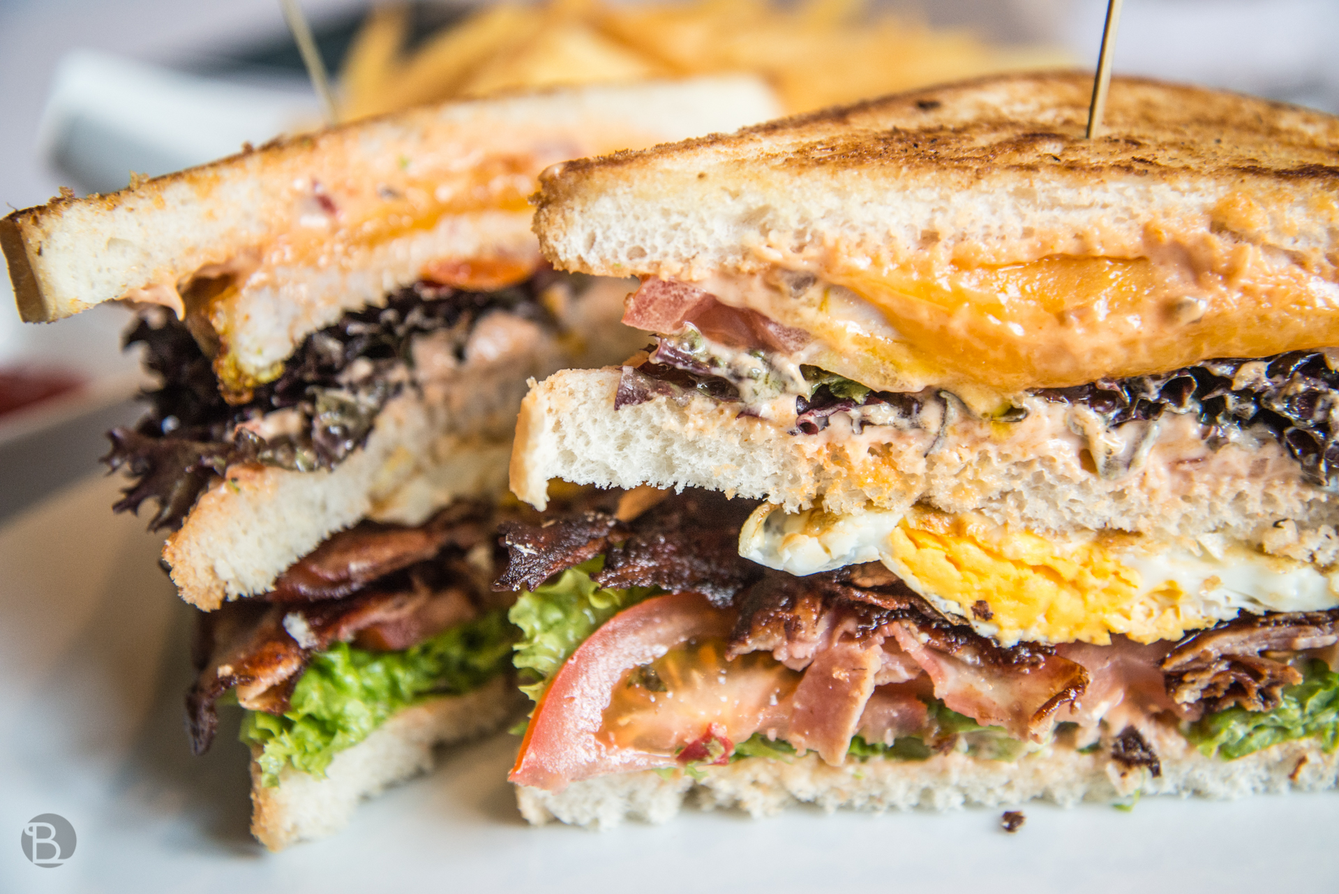 5 - poschodový Sheraton Club Sandwich