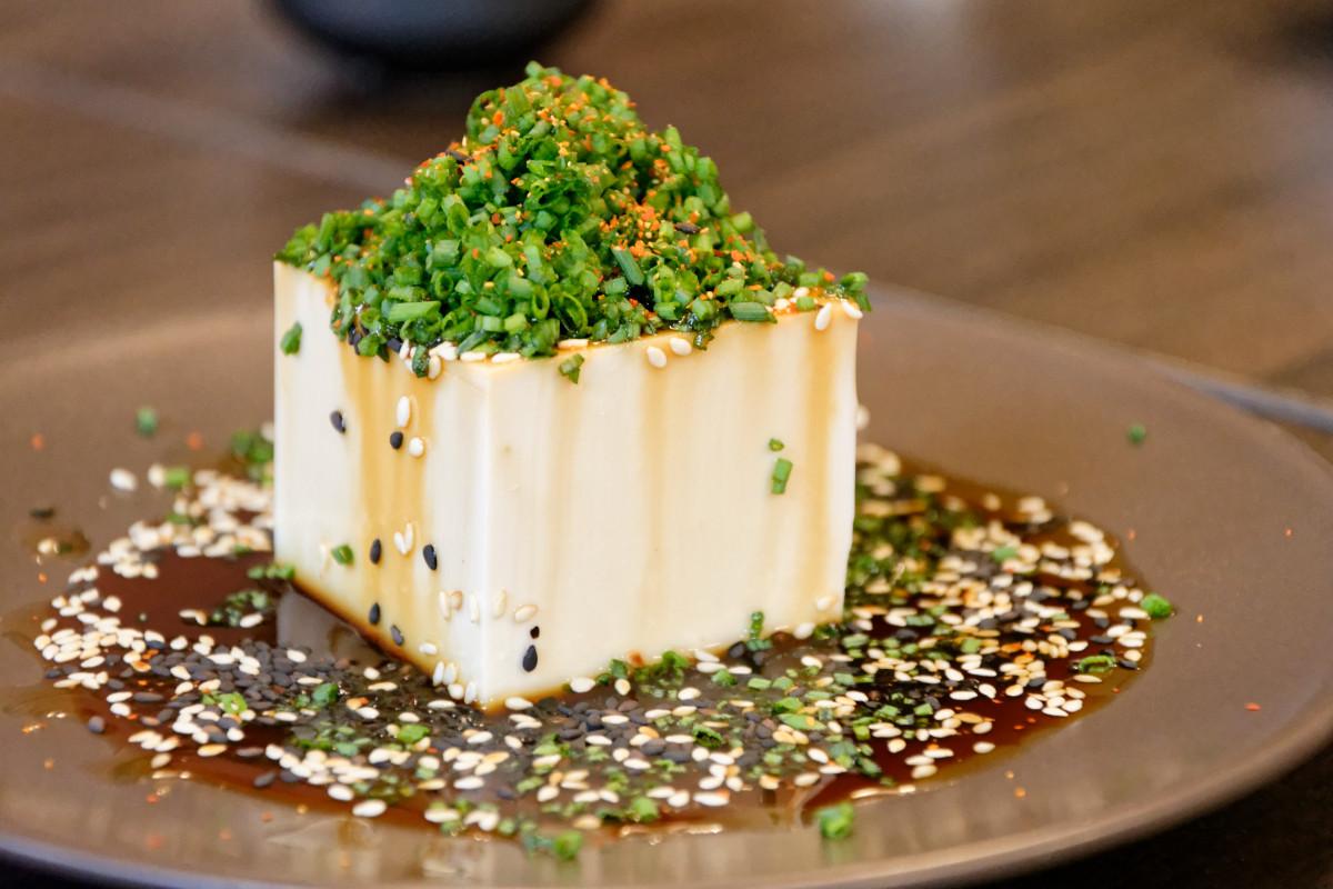 Hodvábne tofu je dôkazom, že jedlo môže naozaj potešiť oči.
