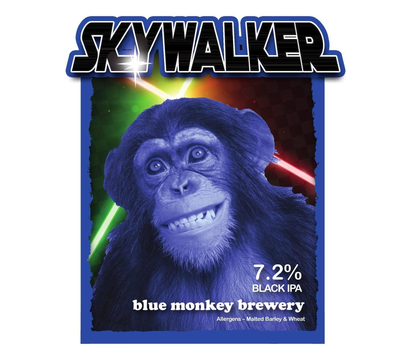 Blue Monkey Skywalker