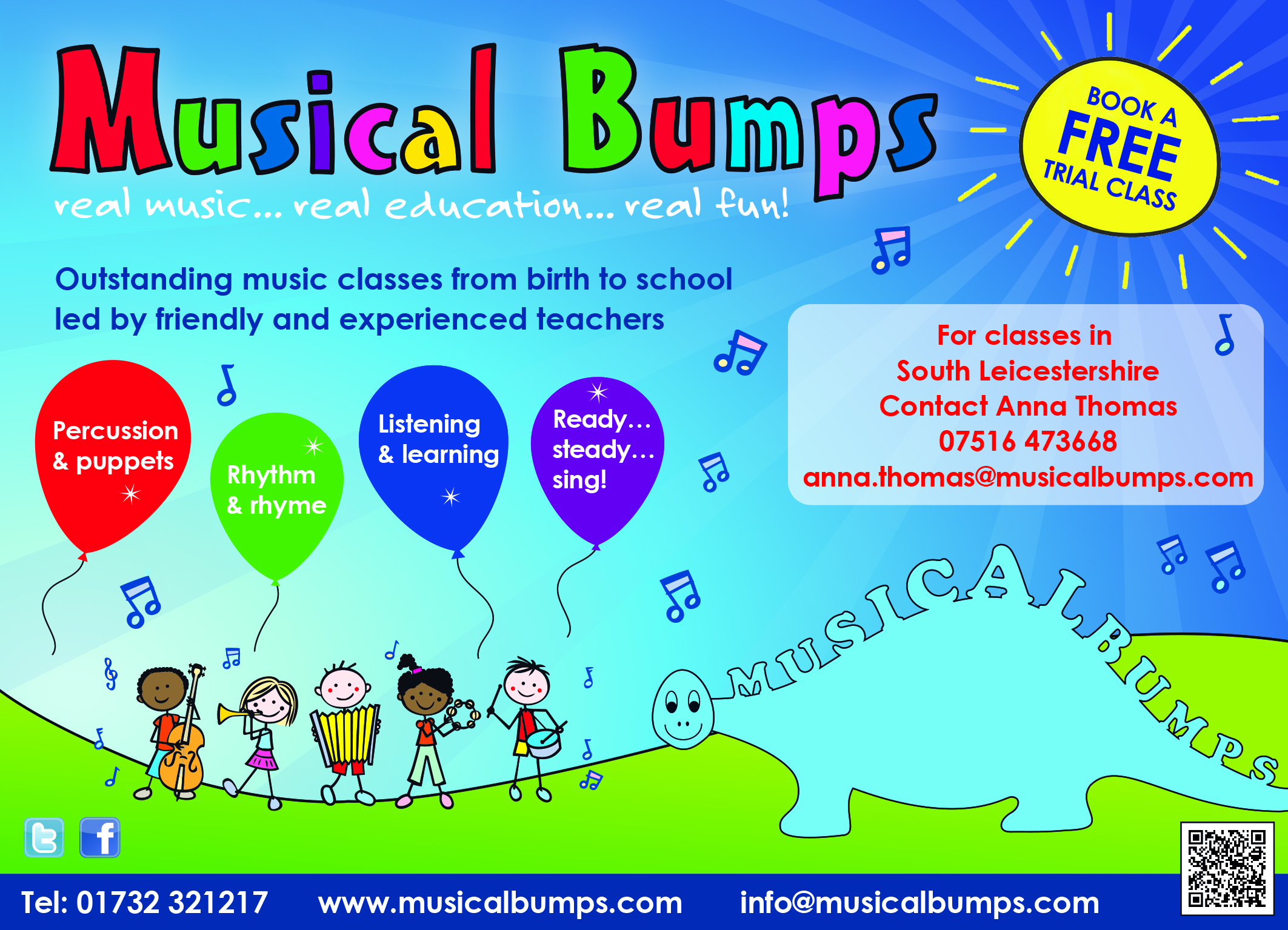 Musical Bumps Leicester