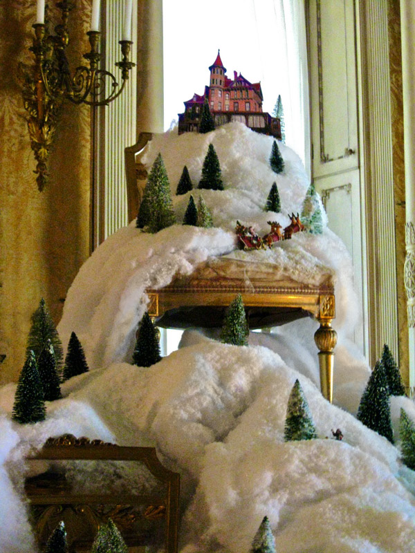 Geoff's Christmas installation for the Wilderstein Historic Site, Rhinebeck, NY