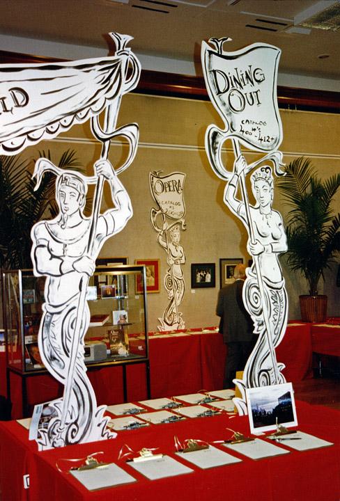 Metropolitan Opera Guild: event decor and installation
