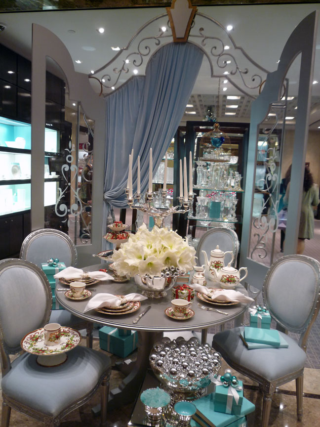 Holiday decor produced for Tiffany & Co