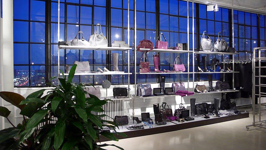 Hugo Boss: showroom