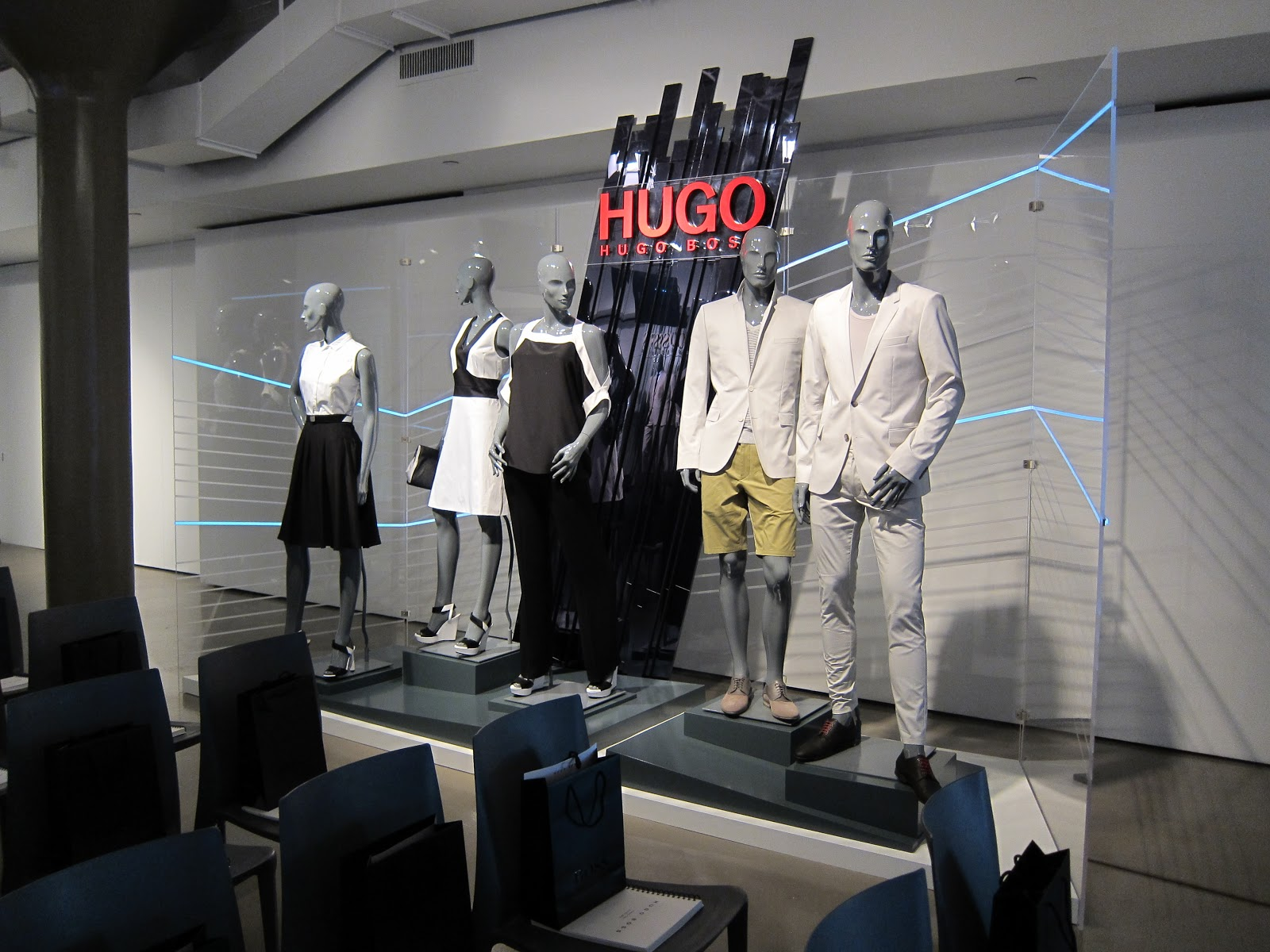 Hugo Boss: Market Week.