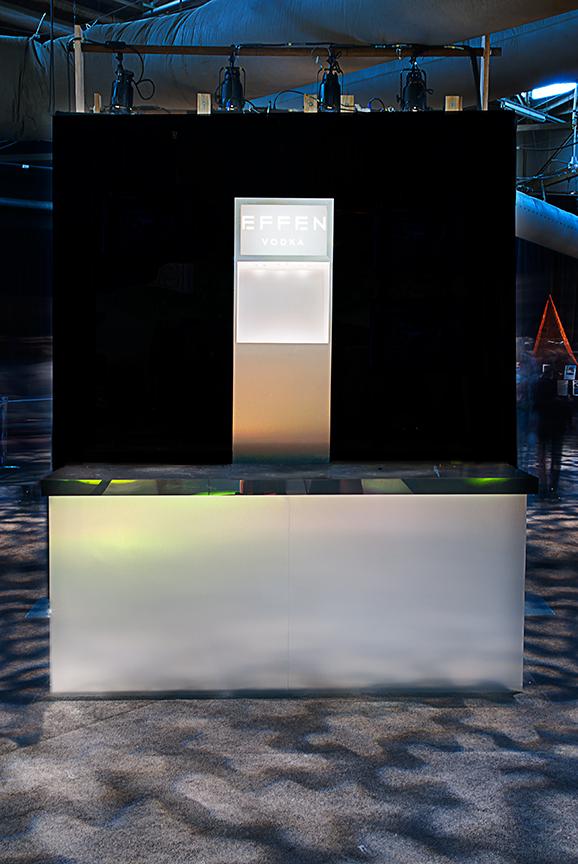 DIFFA; Dining By Design; installation sponsored by Effen Vodka.