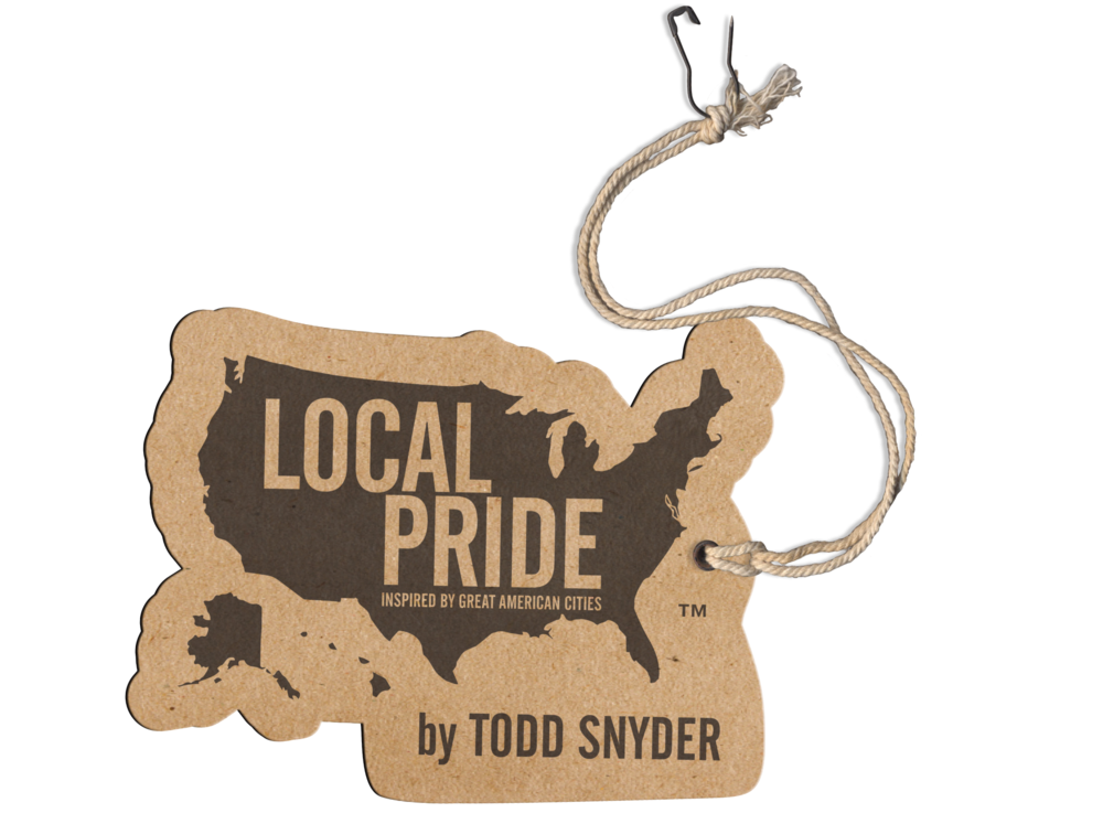 Branding Hang tag design  Production  Target Local Pride by Todd Snyder  Target