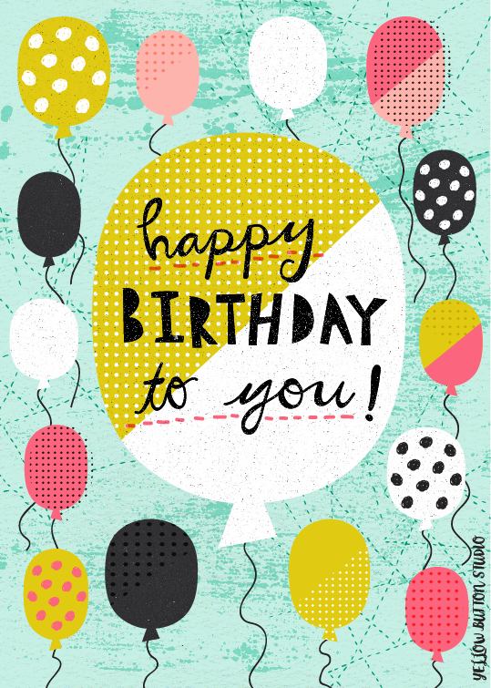 Happy Birthday to you! 1/101