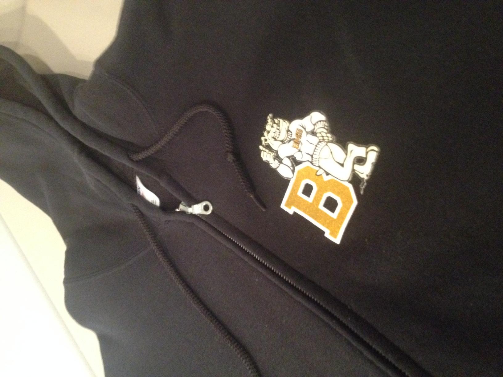 Zip Hoodie for Beveridge Magnet School