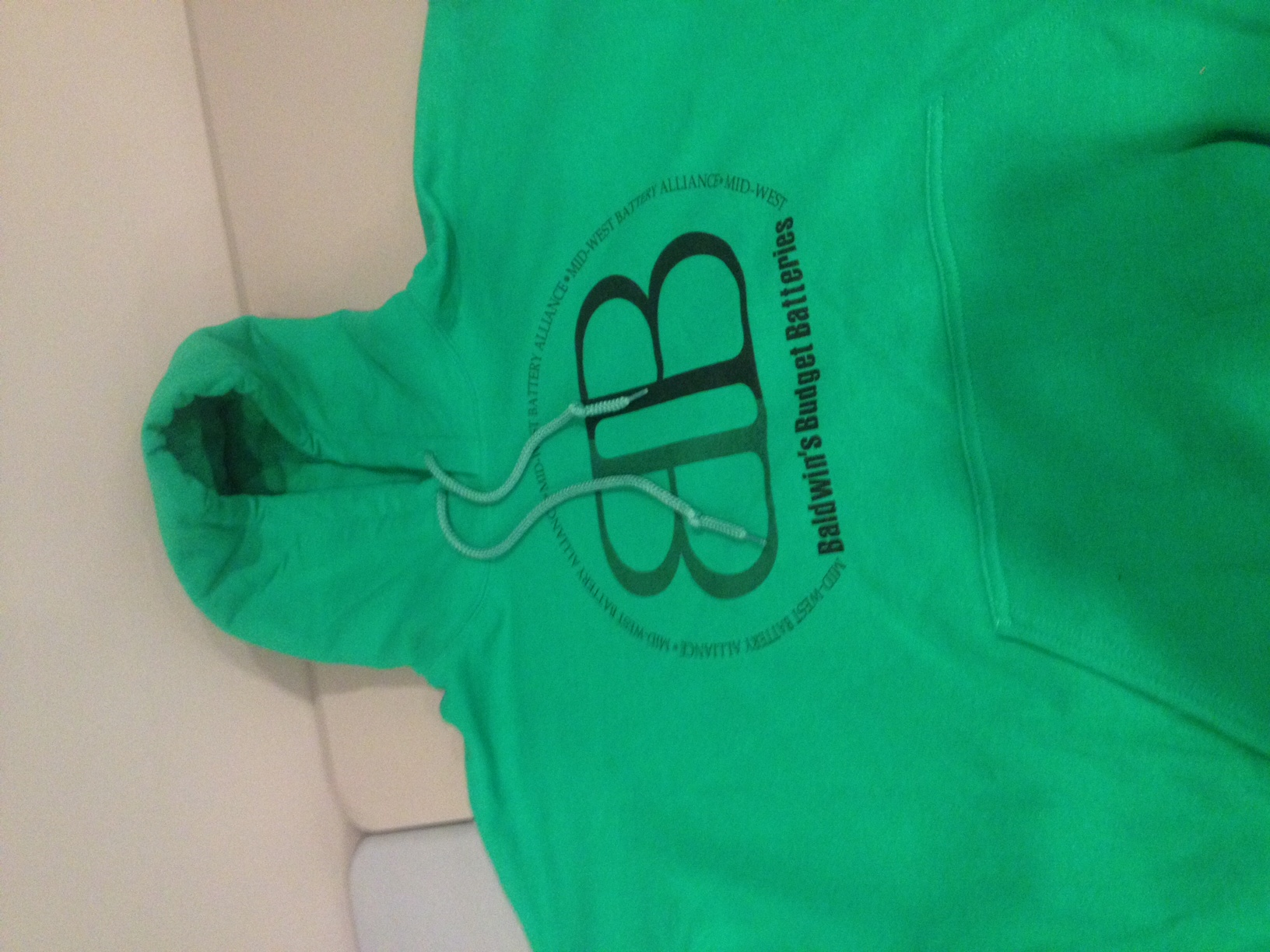 Pullover hooded sweatshirts for Budget Batteries
